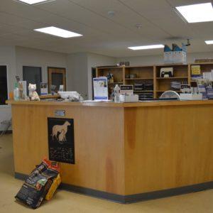 HSWA reception area
