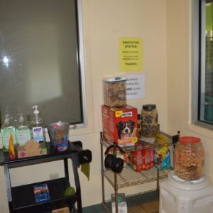 HSWA treat and sanitation room, which you enter before entering the adoptable kennel (1)