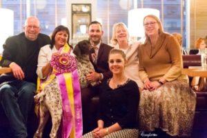 CJ wkc 2016 friends family celebrating