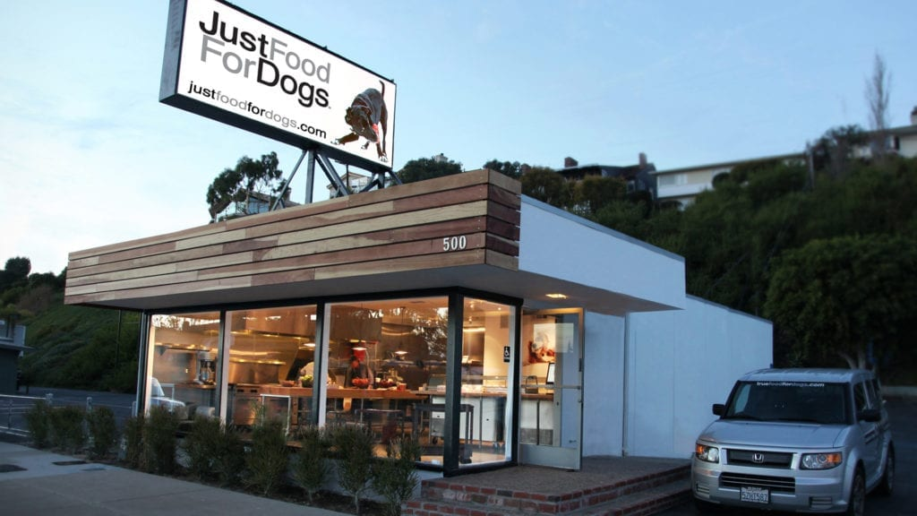 Just Food For Dogs Store Exterior