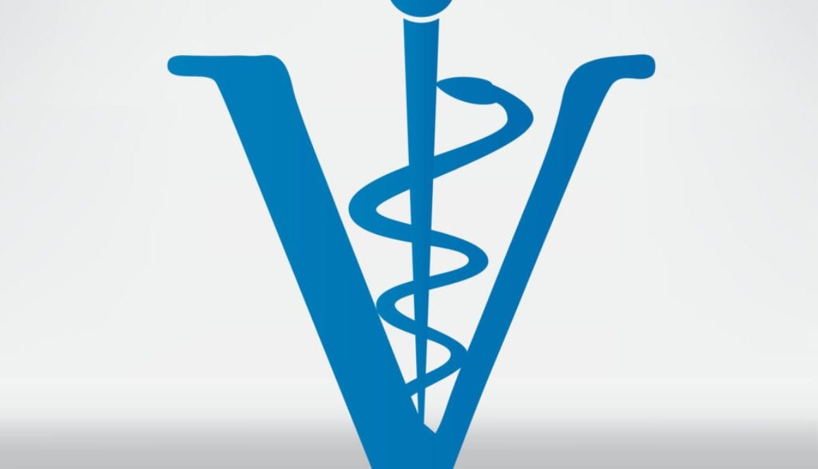 Veterinary sign cat and dog symbol